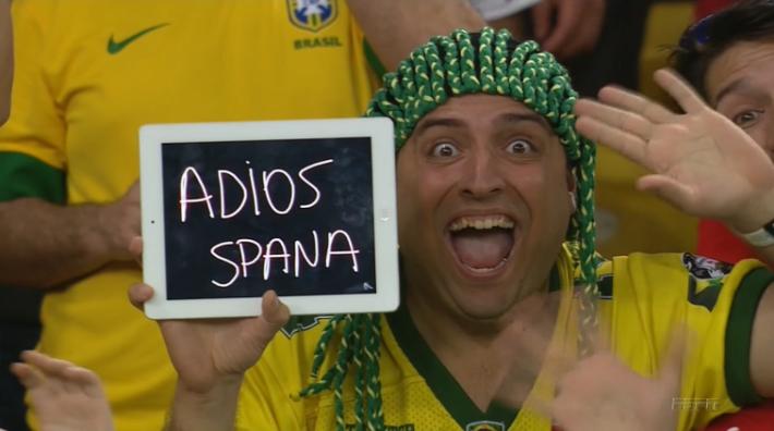 Espanha é a primeira eliminada na Copa 2014